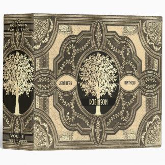 Gold Family Tree Genealogy Album Binder