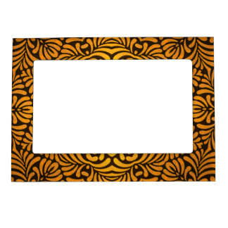 Gold Fern Art Nouveau Magnetic Frame