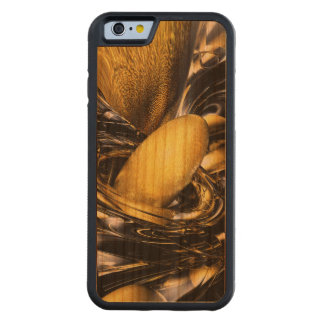 Gold Fever Abstract Carved® Cherry iPhone 6 Bumper Case