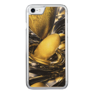 Gold Fever Abstract Carved iPhone 8/7 Case