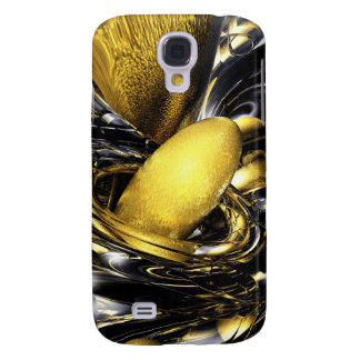 Gold Fever Abstract Galaxy S4 Case