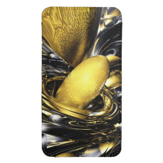 Gold Fever Abstract Galaxy S4 Pouch