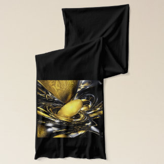 Gold Fever Abstract Scarf