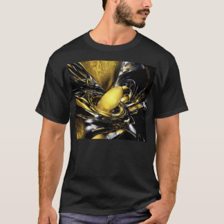Gold Fever Abstract T-Shirt
