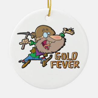 GOLD FEVER CHRISTMAS TREE ORNAMENTS