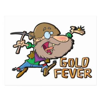 GOLD FEVER POSTCARD