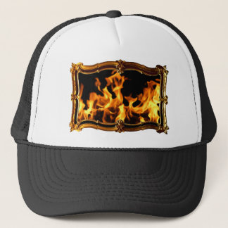 Gold Fire A Trucker Hat