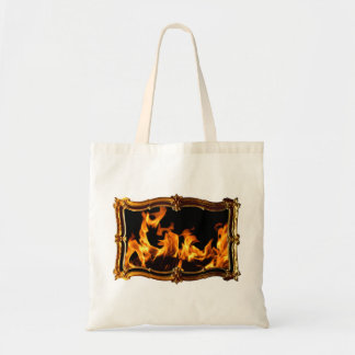 Gold Fire B Tote Bag