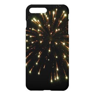 Gold Fireworks Burst iPhone 7 Plus Case