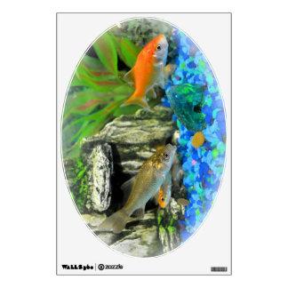 Gold fish Aquarium Wall Decal