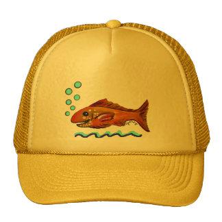 Gold Fish Trucker Hat