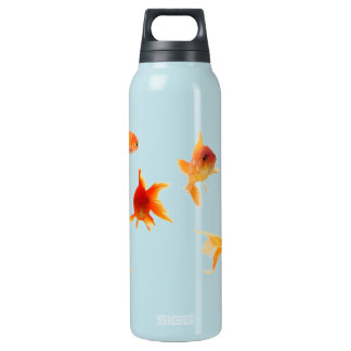 Gold Fish Insulated Water Bottle