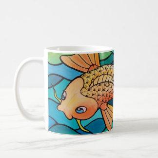 Gold Fish / Koi Pond Classic White Coffee Mug
