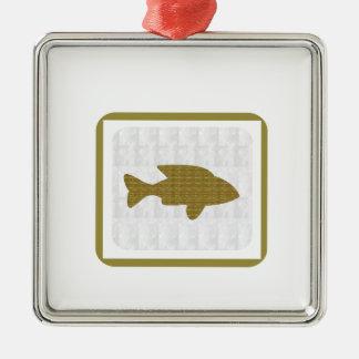 GOLD Fish Pet Aquatic Zoo NVN281 Greetings kids Christmas Tree Ornaments