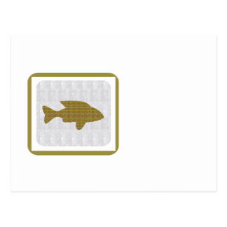 GOLD Fish Pet Aquatic Zoo NVN281 Greetings kids Postcards