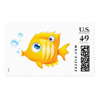 Gold Fish Postage Stamps