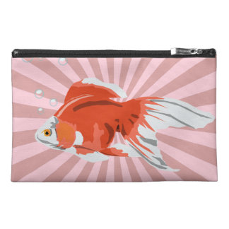 Gold Fish with Bubbles Accessory Bag