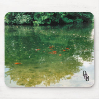 Gold Fishen Mouse Pad