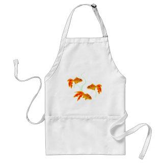 Gold Fishies Adult Apron