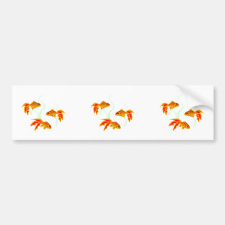 Gold Fishies Bumper Sticker