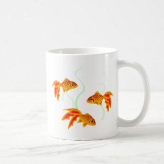 Gold Fishies Coffee Mug