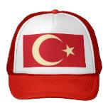 GOLD FLAG CRESCENT 3D HATS