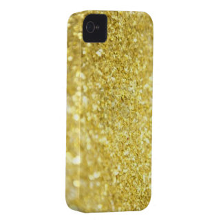 Gold flakes iPhone 4 case