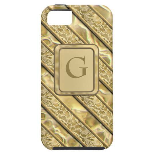 Gold Flakes iPhone SE/5/5s Case