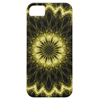 Gold Flaming Flower iPhone SE/5/5s Case