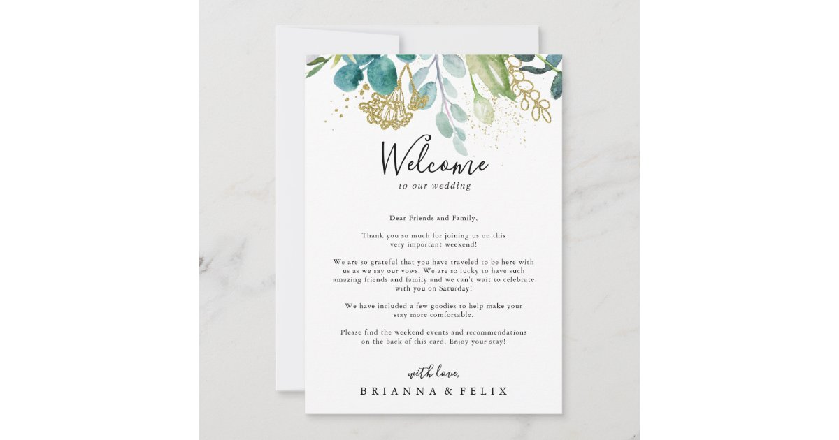 Tropical Wedding Welcome Destination Wedding Welcome Letter Beach Wedding Welcome Letter Wedding Welcome Letter Wedding Welcome