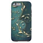 Gold Florentine Scrolls Tough iPhone 6 Case
