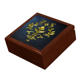 GOLD FLOURISH KEEPSAKE BOX