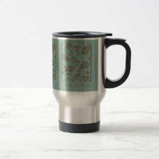 Gold Flourish Mother's Day 15 Oz Stainless Steel Travel Mug
