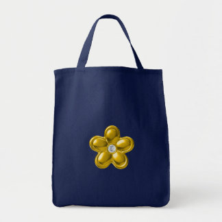 Gold flower with Diamond Bags