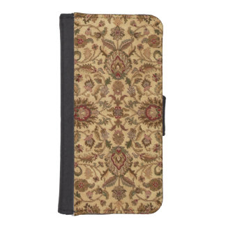 Gold Flowers Arabesque oriental tapastery iPhone SE/5/5s Wallet