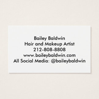 Gold Foil and Confetti Business Card