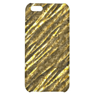 Gold Foil Bling iPhone4 iPhone 5C Covers