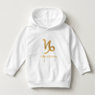 Gold Foil Capricorn Zodiac Symbol T-shirt