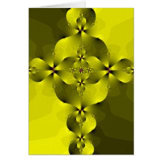 Gold Foil Cross Greeting Card