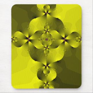 Gold Foil Cross Mouse Pad