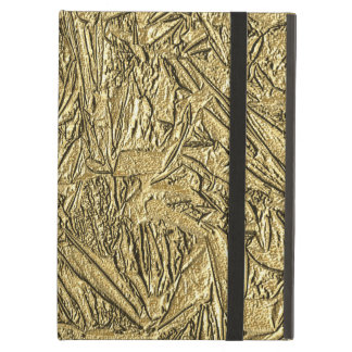 Gold Foil Design Case For iPad Air