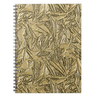 Gold Foil Design Notebook