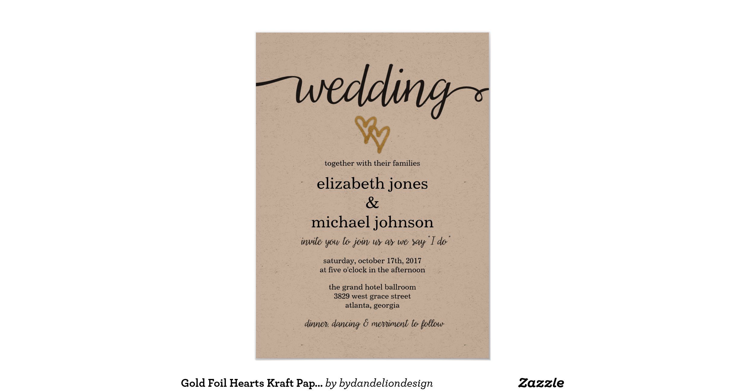 wedding invitations using kraft paper - 28 images - diy tutorial ...