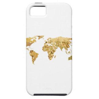 Gold Foil Map iPhone SE/5/5s Case