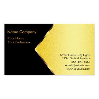 Gold Foil Retro Crown logo Financial Services Double-Sided Standard Business Cards (Pack Of 100)