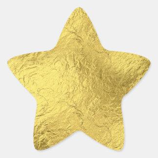 Gold Foil Star Sticker