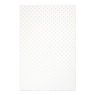 Gold Foil Tiny Polkadot Pattern Stationery