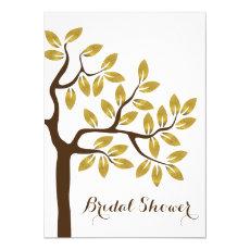 Gold foil tree modern bridal shower wedding 5