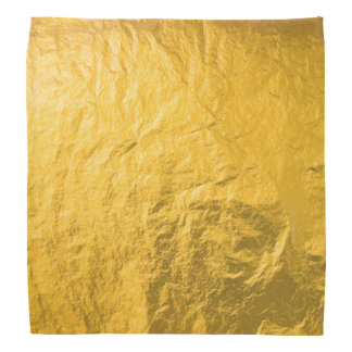 Gold,foile paper,vintage,grunge,golden,pattern,fun bandana
