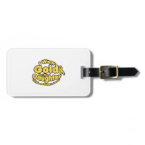 Gold For My Daughter Childhood Cancer Awareness Bag Tag